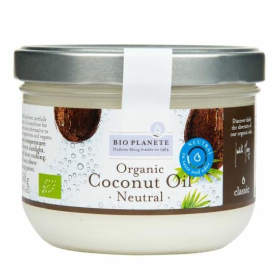 Bio Planete Olej kokosový dezodorizovaný BIO 400 ml