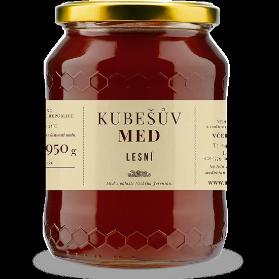 Kubešův med MED LESNÍ MEDOVICOVÝ 750 g