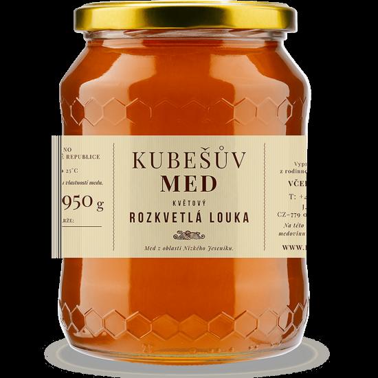 Kubešův med Med květový rozkvetlá louka 750 g