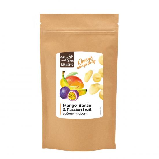 Ovocné minipiškóty mango, banán a maracuja FARMLAND 15g