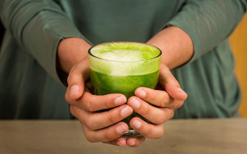 recept Detoxikační zelené smoothie s kapustou