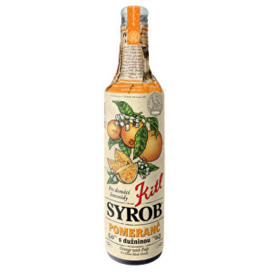 Kitl Kitl Syrob Pomeranč s dužinou 500 ml