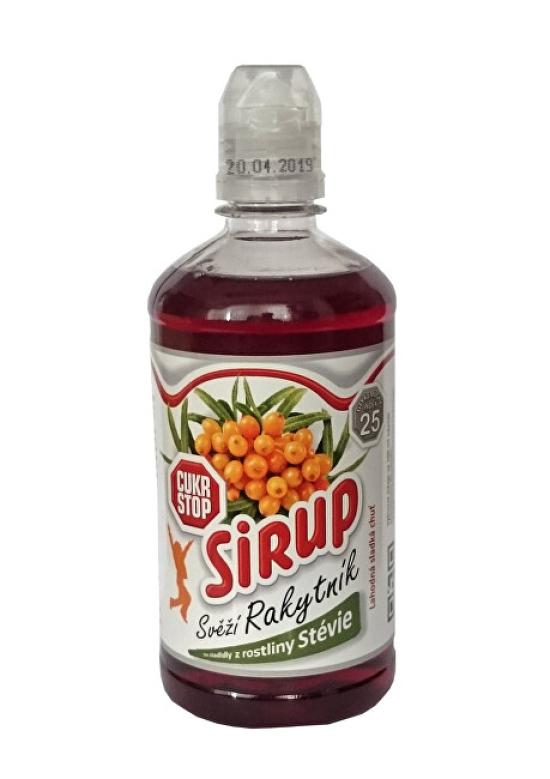 Cukr Stop sirup svěží rakytník 500ml