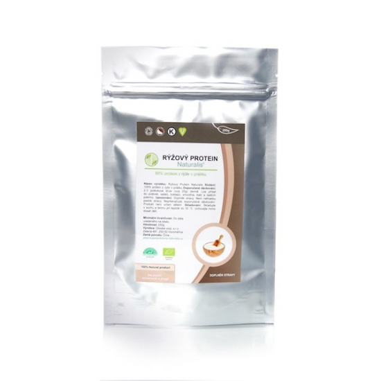 Naturalis Rýžový protein Naturalis BIO 250 g