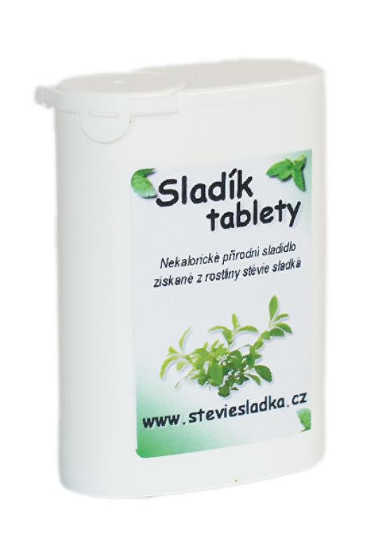 Salvia Paradise Stévie sladká - Sladík - tablety - 1000Ks