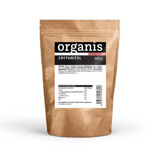 Organis Organis Erythritol 500 g