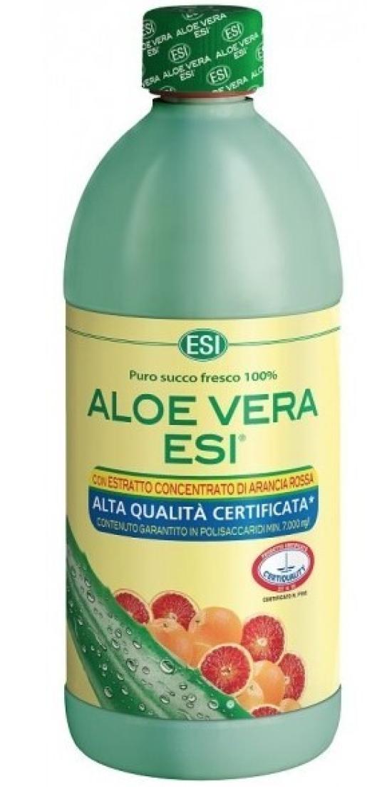 ESI Aloe Vera ESI - šťáva s červeným pomerančem 1 l