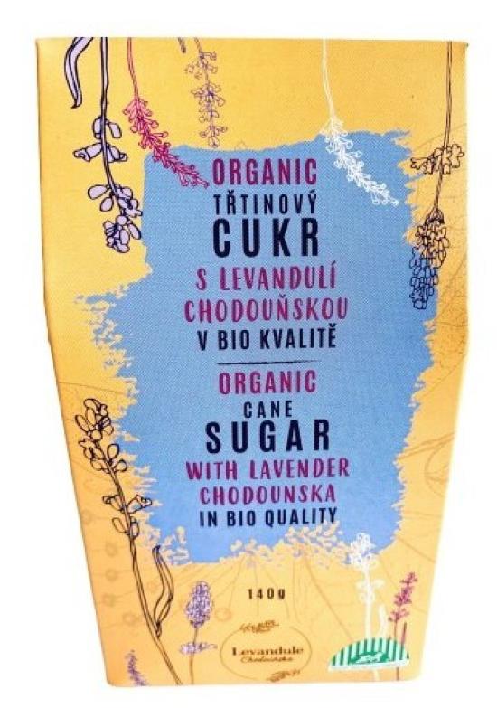 BIO Levandule Chodouňská BIO třtinový cukr s Levandulí Chodouňskou 140 g