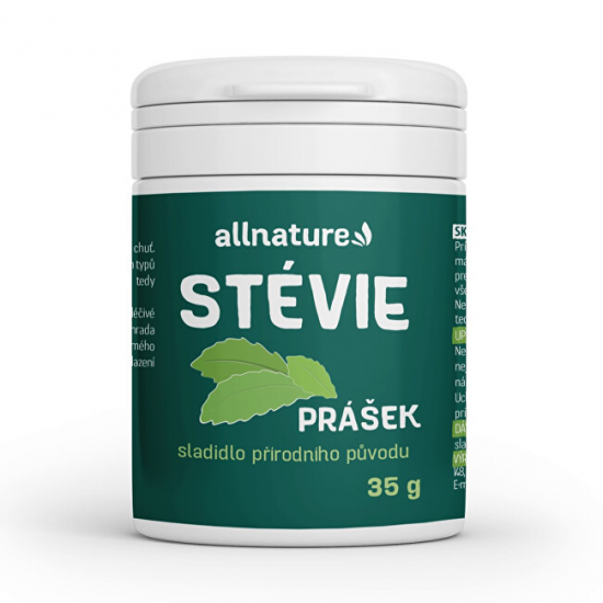 Allnature Stévie prášek 35 g