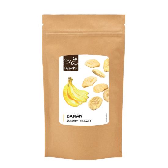 Banán sušený mrazem Farmland 20g