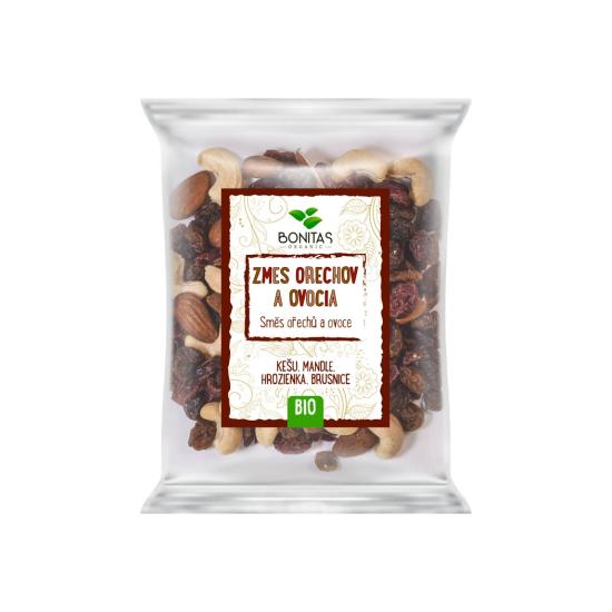 BIO Směs ořechů a ovoce BONITAS 100g