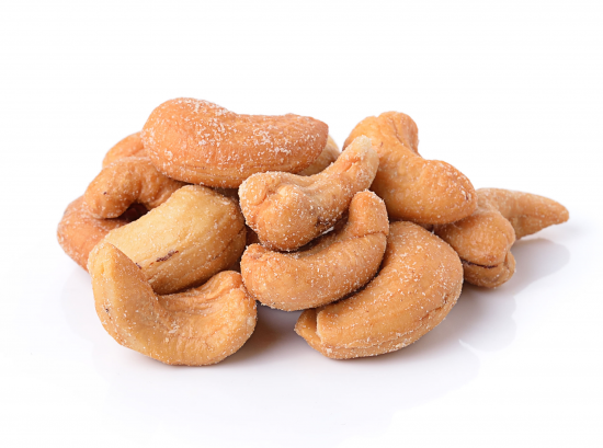 FARMLAND Kešu ořechy pražené solené bez obalu 100g