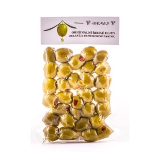 Olivy zelené s papričkou 150 g 150g