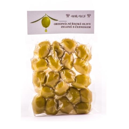 Olivy zelené s česnekem 150 g 150g