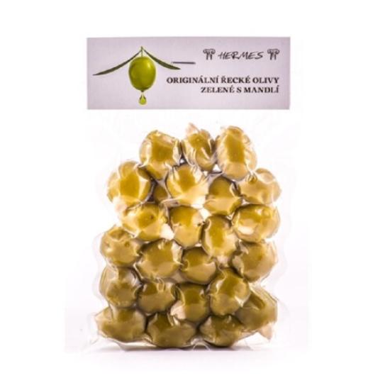 Olivy zelené s mandlí 150 g 150g