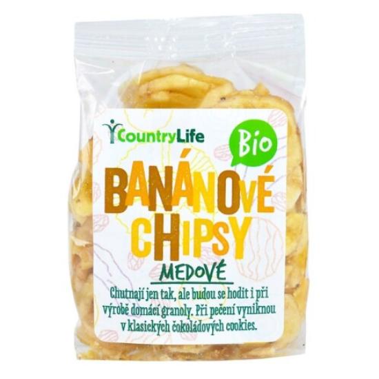 BIO Banánové plátky 100 g 100g