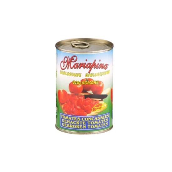 BIO Rajčata sekaná sterilovaná Mariapina 400 g 0l