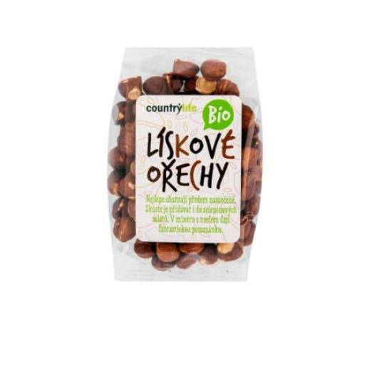 BIO Lískové ořechy 100 g