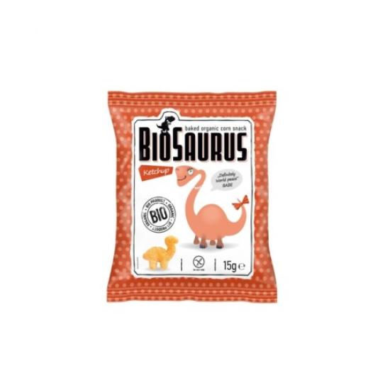 BIO Biosaurus Babe mini s kečupem 15 g 15g