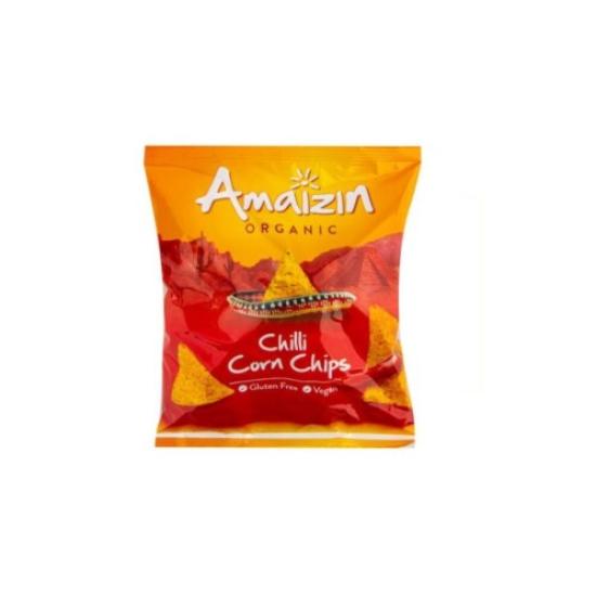BIO Kukuřičné chipsy chilli Amaizin 75 g 0l