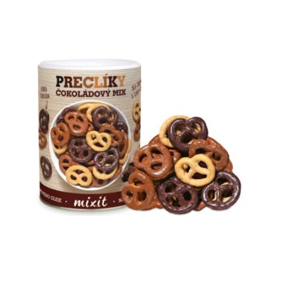 Mix preclíků v čokoládě 250 g 250g