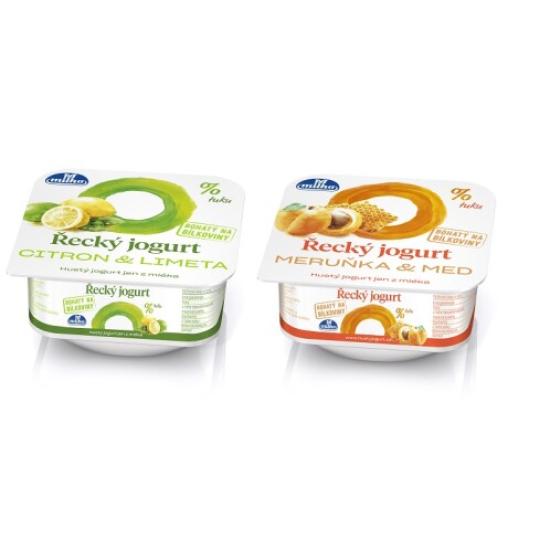 Řecký jogurt meruňka/citrón 140 g 0l