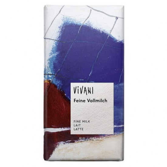 BIO Mléčná čokoláda Vivani 100 g 0l