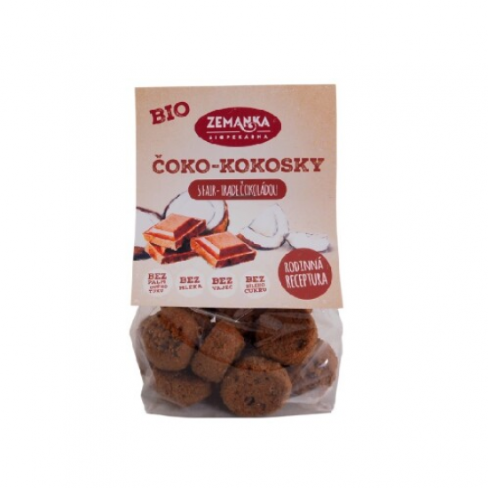 BIO  Čoko-kokosky s fair trade čokoládou 100 g 100g