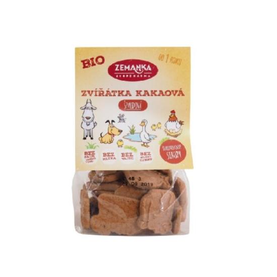 BIO Sušenky špaldová zvířátka kakaová 100 g 100g