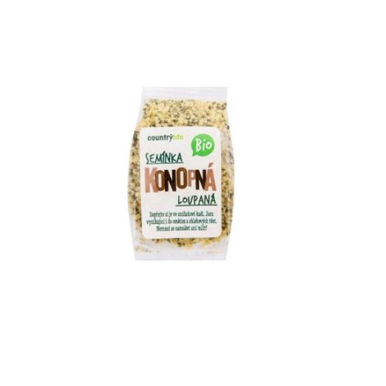 BIO Konopná semínka loupaná 100 g 0l