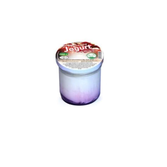 Farmářský jogurt s příchutí višeň 150 g
