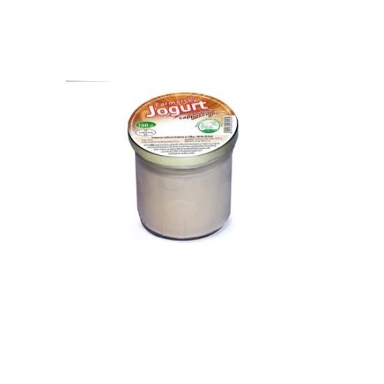Farmářský jogurt s příchutí cappuccino 150 g