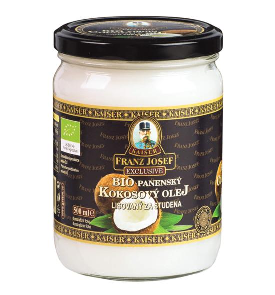 Franz Josef Kaiser Kokosový olej BIO panenský 500 ml