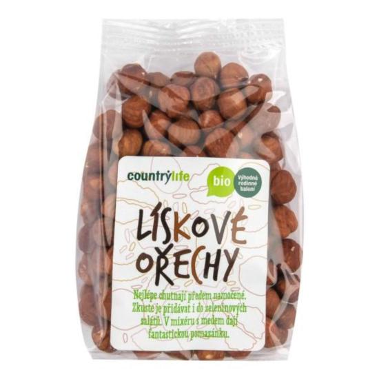 Country Life Lískové ořechy BIO 250 g