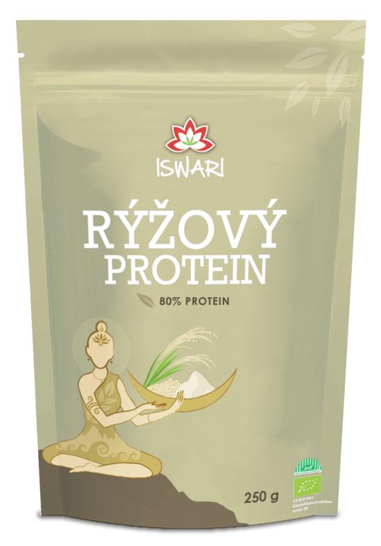 Iswari Rýžový protein 80 % BIO 250 g