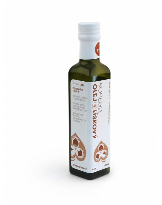 Bohemia olej Lískový ořech 250 ml LZS a RAW