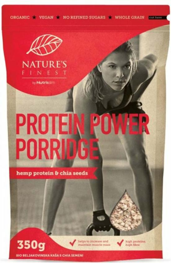 Nutrisslim Proteinová kaše s chia BIO 350 g