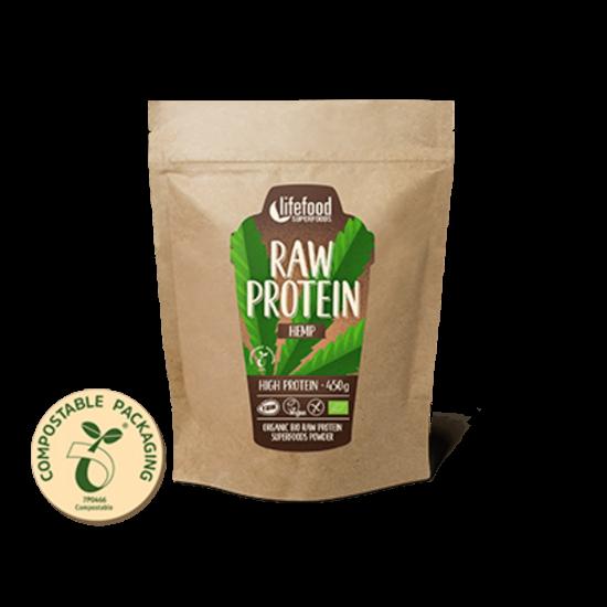 Lifefood Konopný protein BIO RAW 450 g