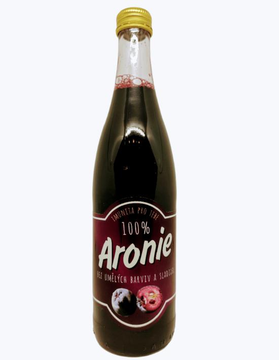 Arónie Šťáva z arónie 100 % 490 ml