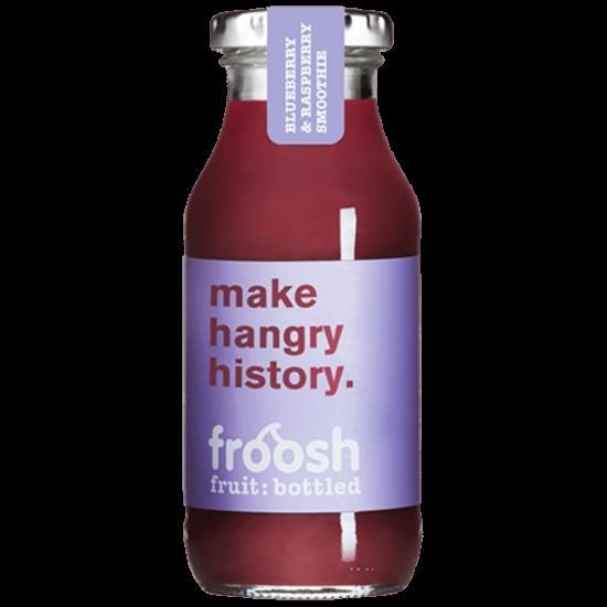 Froosh Smoothie borůvka a malina 250 ml