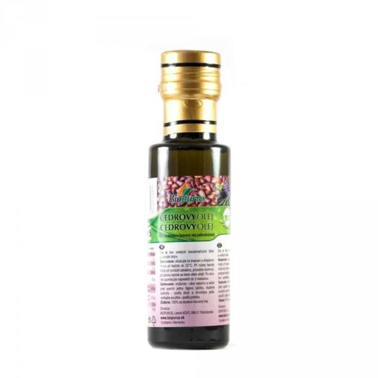 Biopurus Cedrový olej BIO 250 ml