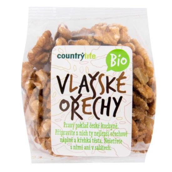Country life Vlašské ořechy BIO 100 g