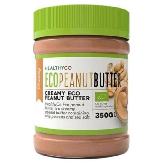 Healthyco Arašídové máslo křupavé BIO 350 g