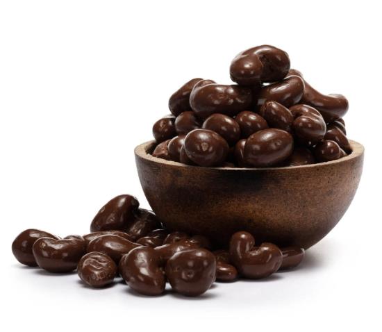 GRIZLY Kešu v mléčné čokoládě BIO 250 g
