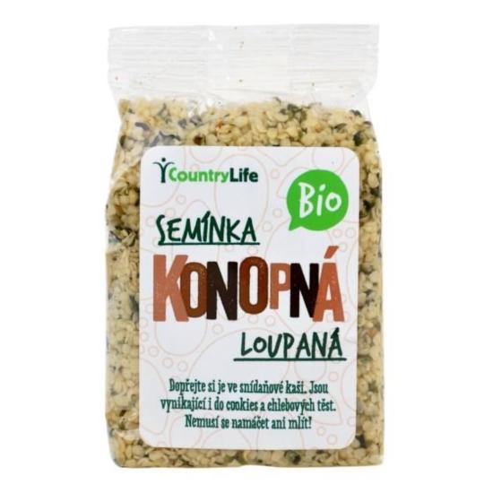 Country Life Konopná semínka loupaná BIO 100 g