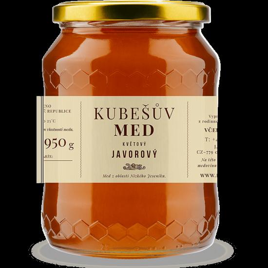 Kubešův med Med květový - javorový 750 g