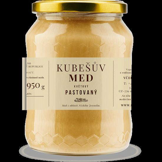 Kubešův med Med květový pastovaný (šlehaný) 480 g
