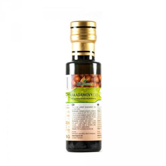 Biopurus Makadamiový olej BIO 100 ml