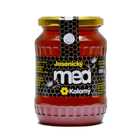 Jesenický med Květový lipový 500 g