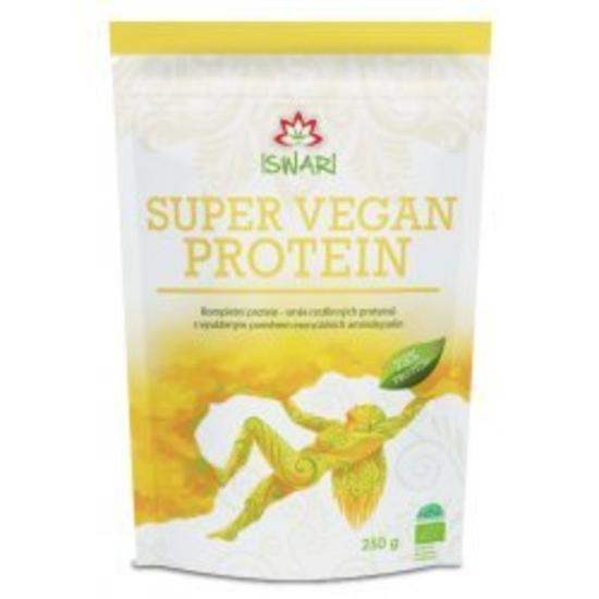 Iswari Super vegan protein 73% BIO 250 g